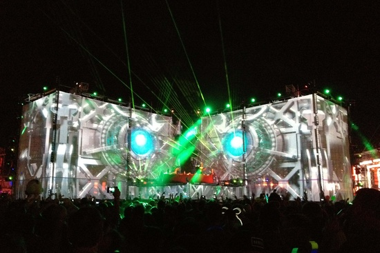 The Basspod at Electronic Daisy Carnival in Las Vegas
